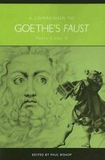 Companion to Goethe's Faust Parts I and II (Studies in German Literature Lingui