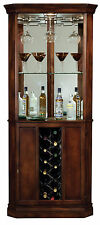 Howard Miller 690-000 (690000) Piedmont Wine & Bar Cabinet, Rustic Cherry