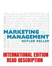 NEW Marketing Management (15th Edition) (International Edition)