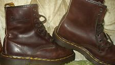 Dr. Doc Martens Air Wair women' Boots - Size 6 US-  4 UK Made In England Leather