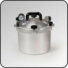NEW ALL AMERICAN 910 USA MADE 10.5 QUART PRESSURE COOKER CANNER SALE