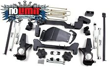 "Chevy/GMC 6"" Lift Kit Gas Diesel 1500/2500/3500 2001-10 Zone Offroad #C4"