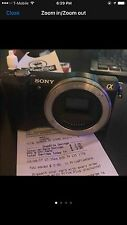 Sony a5000 Body Only