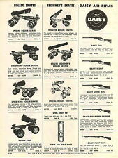 1955 ADVERT Daisy Air Rifle BB Gun Pump Take Down Red Ryder Carbine 1000 Shot