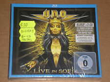 U.D.O. (UDO) - LIVE IN SOFIA - 2 CD  + BLU-RAY DISC SIGILLATO (SEALED)