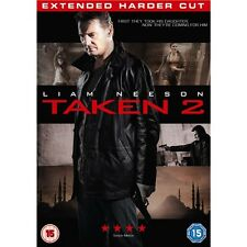 TAKEN 2 - EXTENDED HARDER CUT - LIAM NEESON - NEW / SEALED DVD - UK STOCK