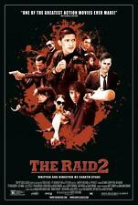 "THE RAID 2 BERANDAL 13""x20""  Original Promo Movie Poster MINT Gareth Evans MINT"