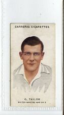 (Jc4993-100)  CARRERAS,FOOTBALLERS (SMALL),G.TAYLOR,BOLTON WANDERERS,1934,#20