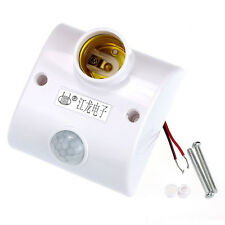 E27 Infrared Motion PIR Sensor Automatic LED Light Lamp Holder Switch Tide