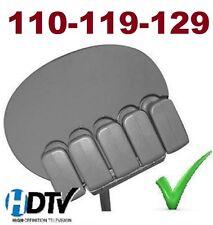 """24"""" HD DISH NETWORK 500 1000 SATELLITE +3 DUAL LNB 110 119 129 HD BELL 91 82 FTA"""