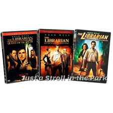 The Librarian: Noah Wyle Trilogy Complete Film 1 2 3 Movie Series Box Set(s) NEW