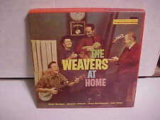REEL TO REEL TAPE RCA 7.5 IPS 4 TRACK THE WEAVERS AT HOME PETE SEEGER OTHERS