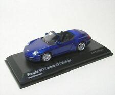 Porsche 911 Carrera 4 S Cabrio (vela-azul metálico) 2008
