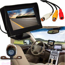 "4.3"" TFT LCD Car Rear View Backup Monitor+ Wireless Parking Night Vision Camera"