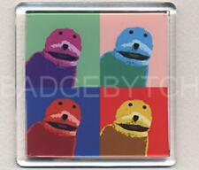 FLAT ERIC WARHOL fridge magnet - COOL !