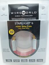WireWorld Starlight 6 HDMI cable 3 meter Wire World