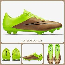 Sz 8.5 Nike Mercurial Vapor X Leather FG PRO Football Boots CR7 747565-707
