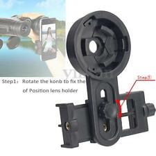 Astronomical Telescope Smartphone Universal  Camera Mount Holder Adapter Clip