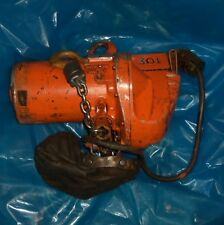 YALE 1000LBS, 460V, 60 CYCLES, ME ELECTRIC HOIST MEL.50.-10H32S1