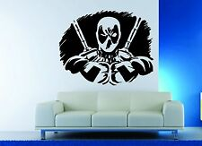 Wall Decor Vinyl Sticker Decal Deadpool Anti Super Hero Comics Mask