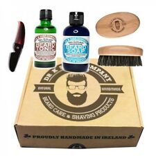 DR K SOAP KIT DANDY STYLE SAPONE TONICO PETTINE SPAZZOLA SET DA BARBA BAFFI