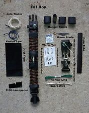 Paracord survival bracelet Fat Boy bugout edc international