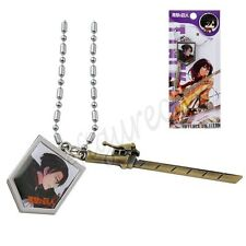 Japanese Anime Attack On Titan Comic Image & Blade Pendant Necklace Cosplay #04