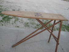 Vintage Used Folding Wood Youth Ironing Board good for decor