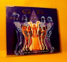 MAXI Single CD  G.B. And The Funky Divas You Say U Know 5 TR 1997 Euro House