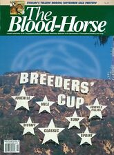 1997 The Blood-Horse Magazine #45: Breeders' Cup Update/Ryafan Yellow Ribbon