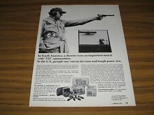 1974 Print Ad Winchester T22 Ammunition S. America Target Shooter New Haven,CT
