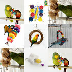 PPet Bird Parrot Parakeet Budgie Cockatiel Cage Hammock Swing Toys Hanging Toy