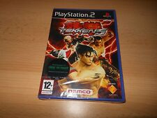 TEKKEN 5 - SONY PLAYSTATION 2 PS2 PAL FREE new sealed