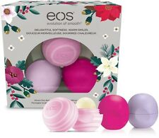3 PC EOS Lip Balm Special Sale Wildberry, Honey Apple, Passion Fruit Limited
