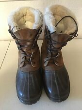 Men's SOREL Steel Shank Insulated Boots (Size: 9)
