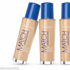 RIMMEL match perfection light reflecting foundation spf18 in 202 nude - 30ml
