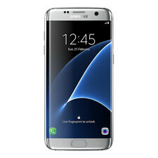Samsung Galaxy S7 Edge Silver G935A LTE AT&T Factory Unlocked 32GB Phone - FRB