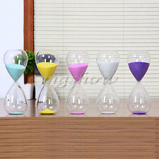10minute Colorful Sand Glass Sandglass Hourglass Timer Clock Home Decor Gift