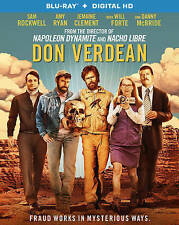 DON VERDEAN Blu-ray NEW Sealed w/slipcover SAM ROCKWELL Amy Ryan
