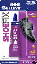 Shoe Fix Glue Selleys Adhesive for Shoe Repair Rubber Leather Canvas Fabric !!!