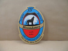 MOONDANCE TRIPLE BREWERY Bitter Ale Beer Pump Clip Pub Collectible