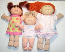 3 Green-Eyed CABBAGE PATCH KIDS ~ Newborn Baby Blonde Set & 2 Red-Haired Dolls