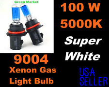 100w Super White Ford 91-94 Explorer High/Low Beam 9004/HB1 Xenon Bulbs