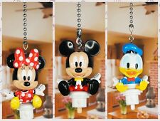 Mickey Mouse Minnie Donald Ceiling Fan Pull Light Lamp Chain Decoration K1231ABC