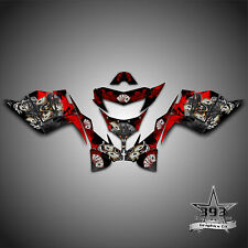 POLARIS IQ RACER 2005-2015  DECALS GRAPHICS WRAP OUTLAW RED