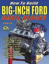 How to Build Big-Inch Ford Small Blocks by George Reid (2004, Paperback)