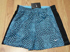 NIKE WOMENS SOOCER BLACK/BLUE SHORTS SIZE XSMALL