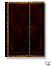 "Paperblanks Writing Lined Journal Black Brown Morrocan Midi Size 5""x7"" NWT"