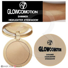 W7 Glowcomotion - Shimmer Highlighter Eye Shadow Baked Powder Compact
