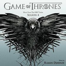 LE TRONE DE FER SAISON 4 (GAME OF THRONES) MUSIQUE SERIE TV - RAMIN DJAWADI (CD)